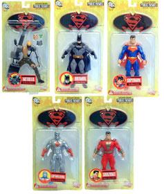 Superman & Batman Public Enemies Series 1 Set of 5