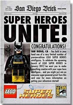 LEGO DC Universe SDCC 2011 - Minifig - Batman