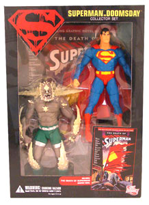 Superman Vs Doomsday Collectors Set