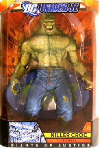 12-Inch DC Universe Giant Of Justice - Killer Croc
