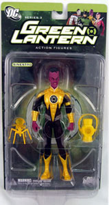 Green Lantern - Sinestro - Yellow