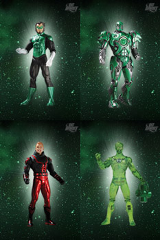 DC Green Lantern - Series 4 Set of 4