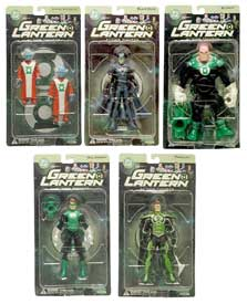 Green Lantern Series 1 Set of 5