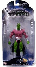 History of The DC Universe - Brainiac