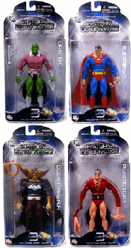 History of The DC Universe - Series 3 Set of 4