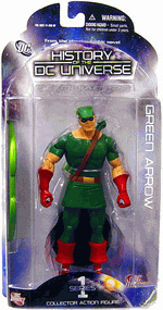 History of The DC Universe - Green Arrow