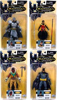 Batman Incorporated Series 1 set of 4