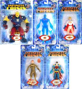 Infinite Crisis - Series 1 Set of 5