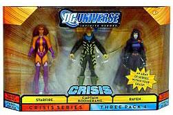 DC Universe Crisis - Starfire, Captain Boomerang, Raven