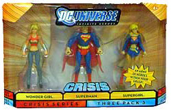 DC Universe Crisis - Wonder Girl, Superman, Supergirl