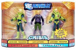 DC Universe Crisis - Lexcorp Troopers and Lex Luthor