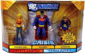 DC Universe Crisis - Bizarro, Wonder Girl, Supergirl