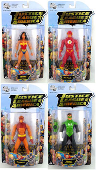 Justice League Of America - Series 3 Set of 4