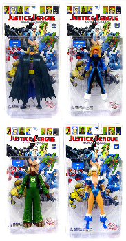 Justice League International: Series 1 Set of 4