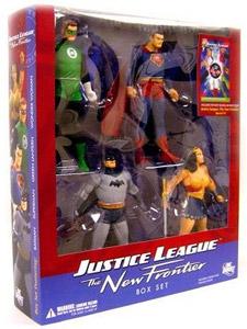 JUSTICE LEAGUE NEW FRONTIER BOX SET