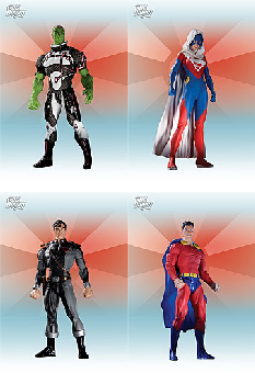 Superman New Krypton - Series 1 Set of 4
