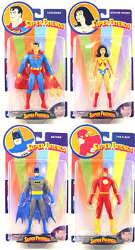 DC Reactivated Series 3 Super Friends Set of 4