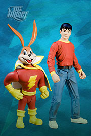 Shazam - Billy Batson and Hoppy