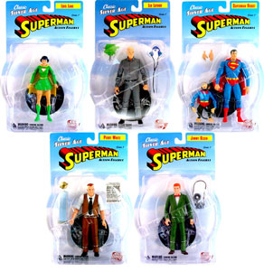DC Direct Silver Age Superman Series 1 Set of 5