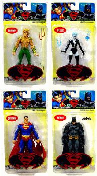 Superman and Batman Series 7 Set of 4