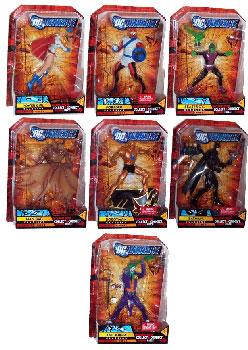 DC Universe - Series 10 Set of 7 [Build Imperiex]