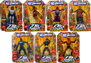 DC Universe - Series 12 Set of 7 - Build DARKSEID
