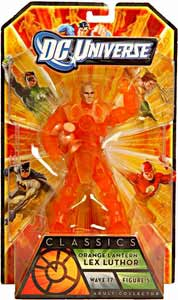DC Universe Series 17 - Lex Luthor Orange Lantern