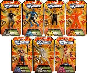 DC Universe Series 17 - Set of 7 [Build Anti-Monitor]