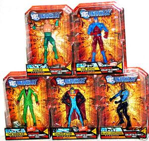 DC Universe Series 5 - Set of 5 [Build Metallo]