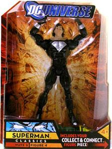 DC Universe - Superman Series 6 With Mullet BLACK SUIT