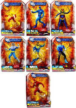 DC Universe - Series 7 Set of 7[Build Atom Smasher]