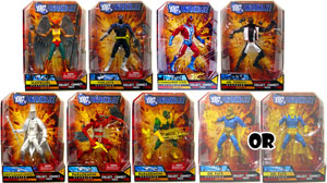 DC Universe - Series 8 Set of 8[Build Giganta] - RANDOM DR FATE