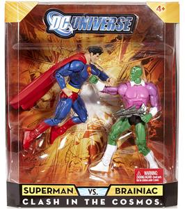 DC Universe - Clash In The Cosmos - Superman VS Brainiac