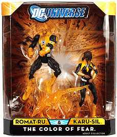 DC Universe - Color of Fear - Romat-Ru and Karu-Sil