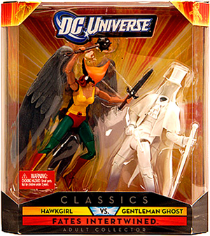 DC Universe - Fates Intertwined - Hawkgirl vs Gentleman Ghost