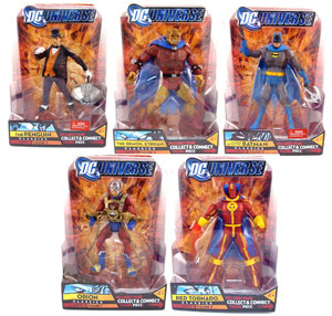 DC Universe - Series 1 Set of 5 Build Rex Mason Metamorpho