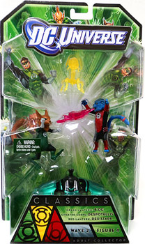 DC Universe Green Lantern - B dg, Dex-Starr and Despotellis