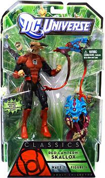 DC Universe Green Lantern - Red Lantern Skallox OR Nite-Lik