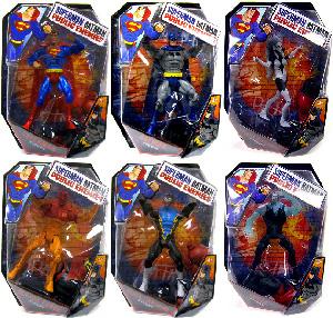 DC Universe Public Enemies - Set of 6 [Build Brimstone]