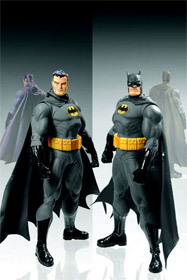 Unmasked - Bruce Wayne and Batman