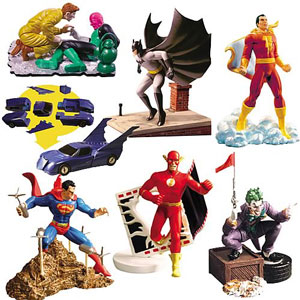 Whos Who DC Universe Mystery Box Series 1: Set of 6 Loose