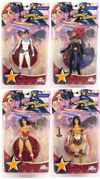 Wonder Woman - Series 1 Set of 4