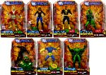 DC Universe - Series 9 Set of 7 [Build Chemo] - [Random WildCat or Mantis]