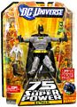 DC Universe World Greatest Super Heroes - Grey Batman with Collector Pin