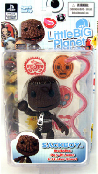 Little Big Planet - Sackboy Close Mouth