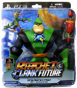 Ratchet and Clank - Captain Quark and Scrunch