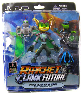 Ratchet and Clank - Armored Ratchet and Mr Zurkon