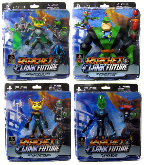 Ratchet and Clank - Series 1 Set of 4
