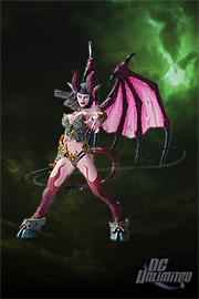 World of Warcraft - SUCCUBUS DEMON: AMBERLASH