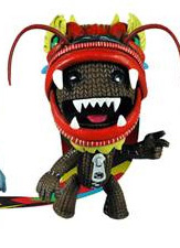 Little Big Planet - Sackboy Dragon Mask